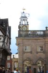 self catering, ludlow, shropshire, buttercross, town centre, shopping, historic, market town;
