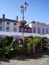ludlow market, ludlow festivals, fresh produce, castle, shropshire
