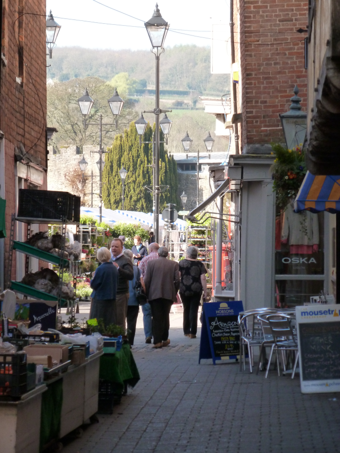 church street ludlow; aragons ludlow; market place ludlow; mousetrap ludlow; ludlow castle; ludlow holiday cottage