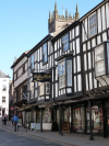de greys ludlow, shropshire, ludlow market, buttercross, self catering accommodation, holiday let ludlow, holiday cottage
